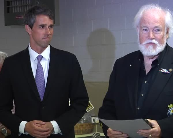 Congressmen O-Rourke honored with medal of honor_13915806-159532