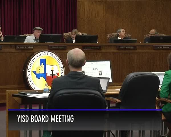 Parents no show for YISD board meeting_38148246-159532