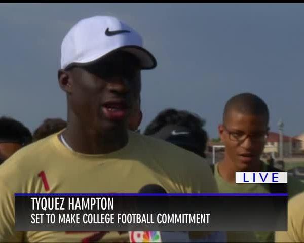 Top El Paso football recruit Tyquez Hampton chooses Washingt_37727741-159532