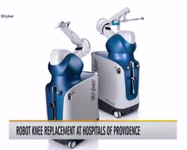 Healthy Life, Happy Life: Robot Knee Replacements