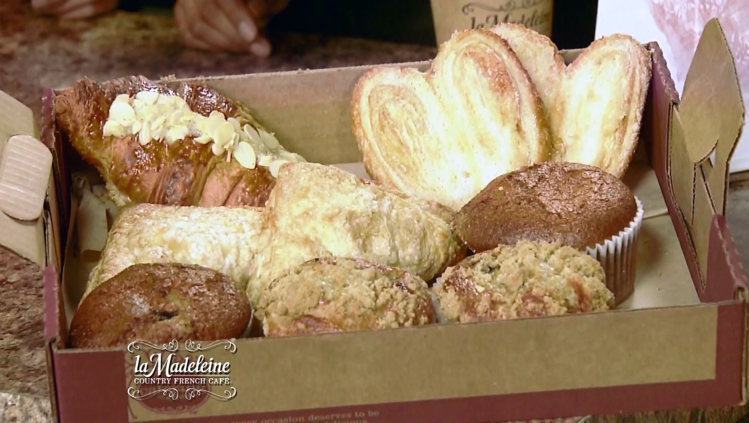 Croissants at La Madeleine
