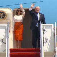 Trump travels overseas_59390520