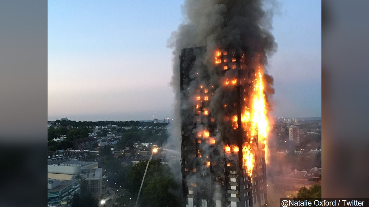 London High-Rise Fire
