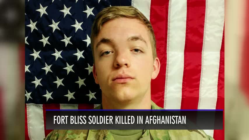 Fort Bliss Soldier Killed in Afghanistan_74346088