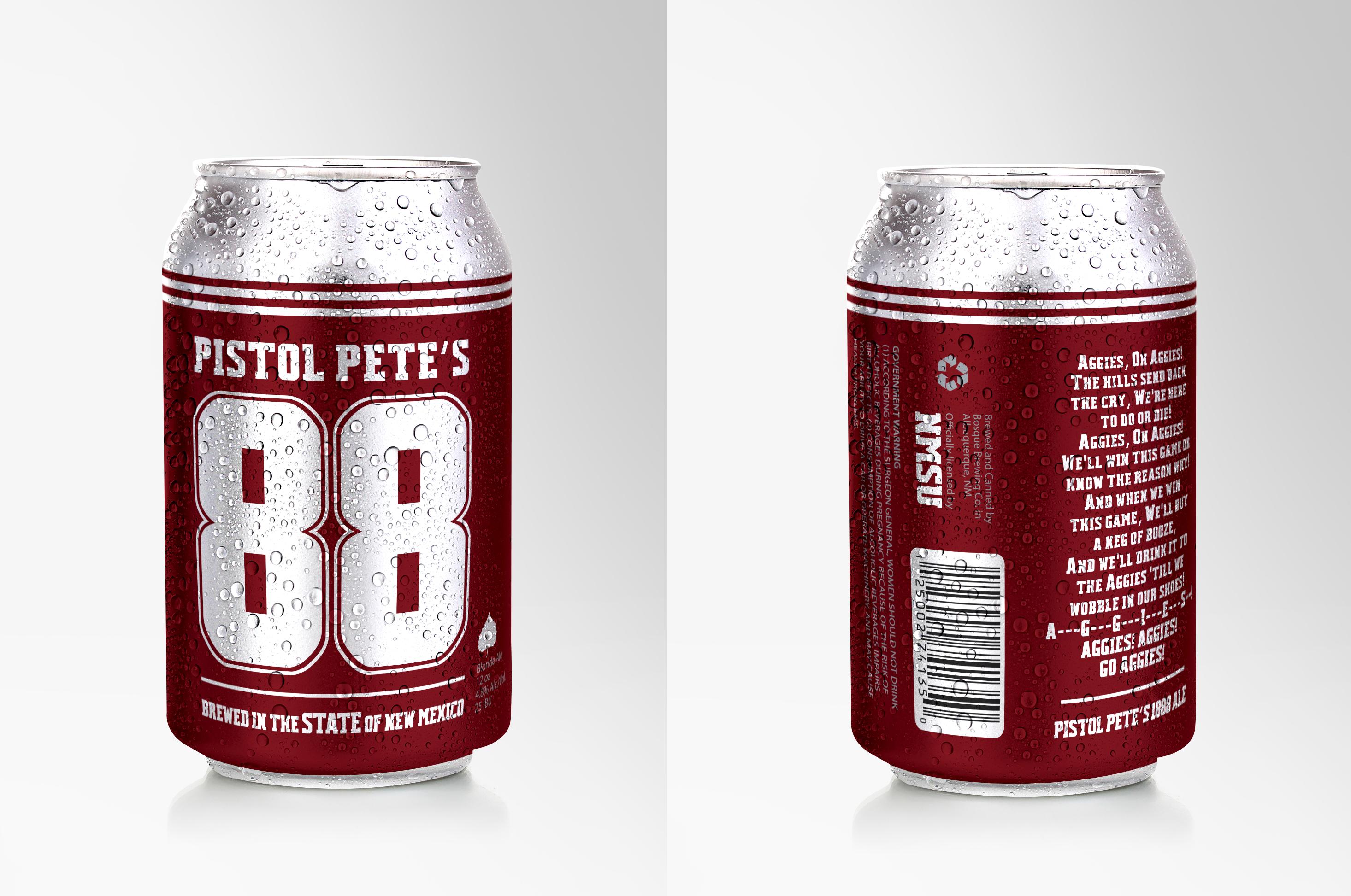 Nmsu And Bosque Brewing Co Launch Pistol Pete S 1888 Ale