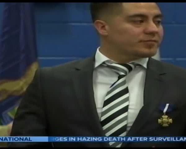 Marine Veteran Honored With Navy Cross_15270284