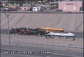EPISD students taken to hospital after minor bus crash