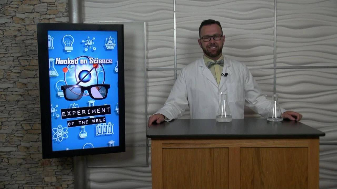 Clock reaction experiment