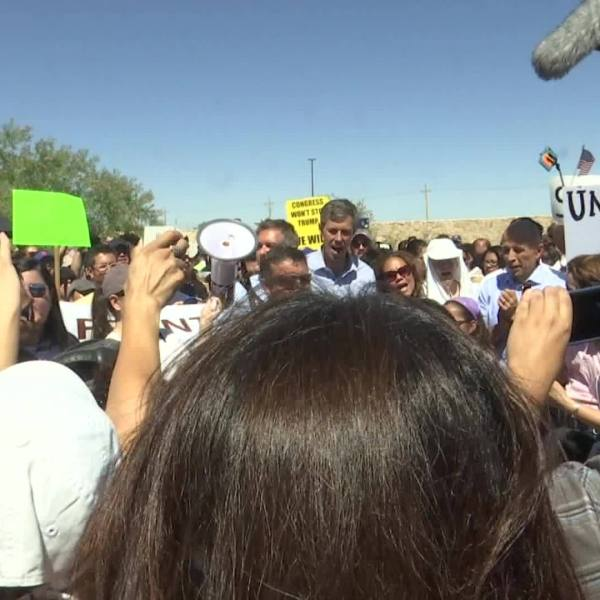 Hundreds march to Tornillo in protest of family separation