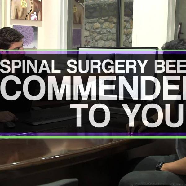 Wellness Wednesday: Spinal Correction