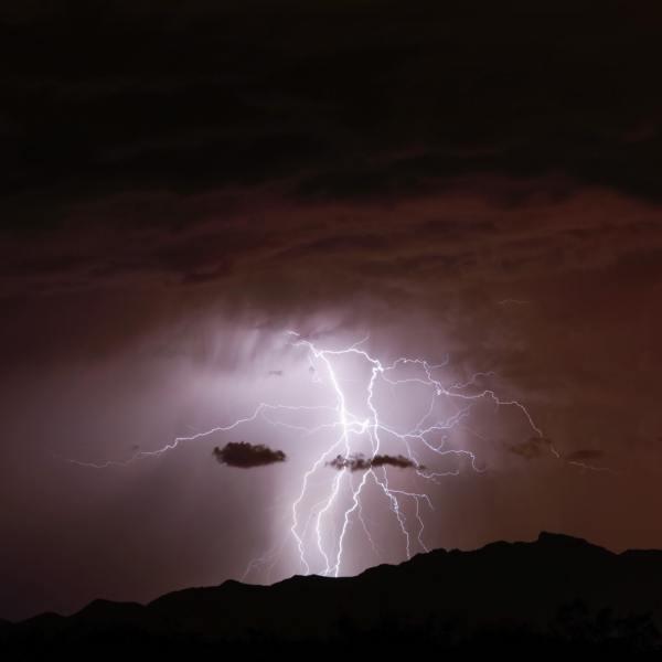 Weekend storms August
