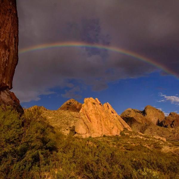 Rainbow in Las Cruces