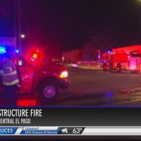 Apartment fire in Central El Paso