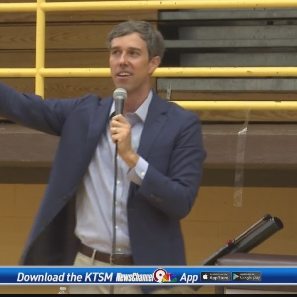 Beto O'Rourke returns to El Paso for town hall meetings