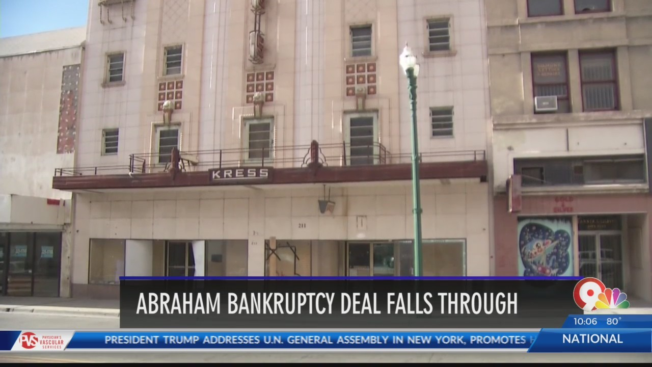 Billy Abraham bankruptcy deal falls through
