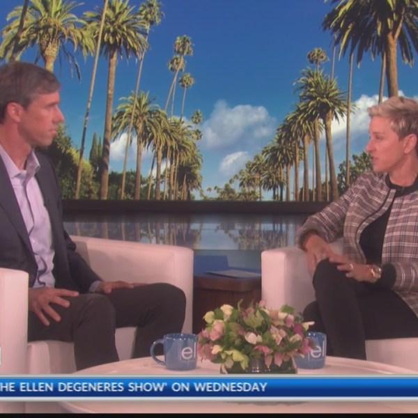 Ellen asks Beto O'Rourke about his DUI