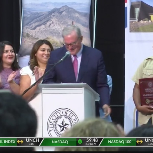 Khalid receives Mayor Margo's first key to the city