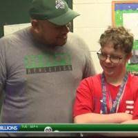Montwood Senior Shines through High School spirit