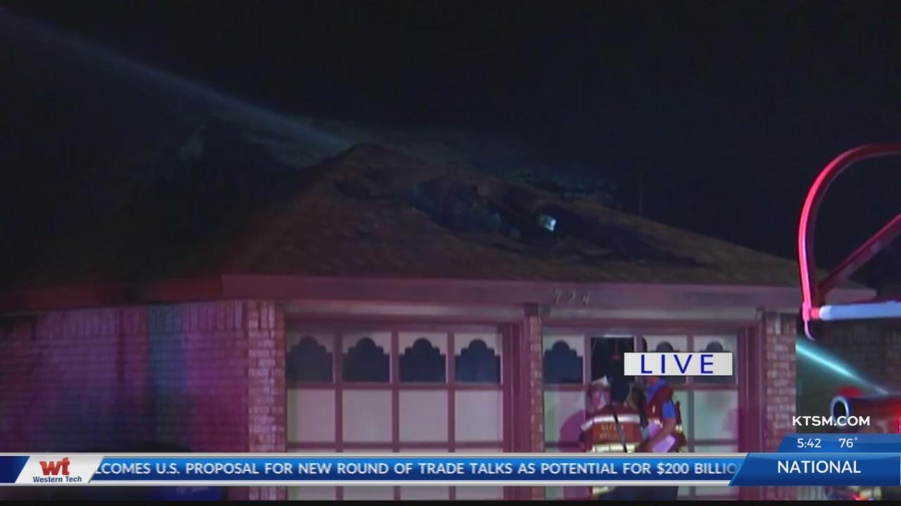 One dead in Villa Flores fire in West El Paso