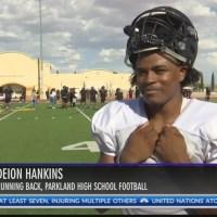 Parkland High School RB Deion Hankins has faith