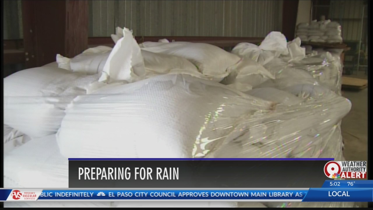Sandbag locations in El Paso: Flood prep