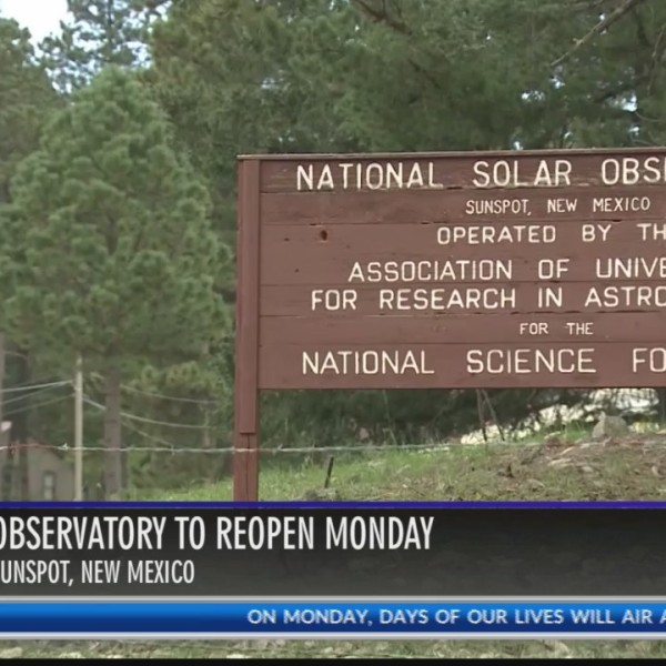 Sunspot Solar Observatory reopens