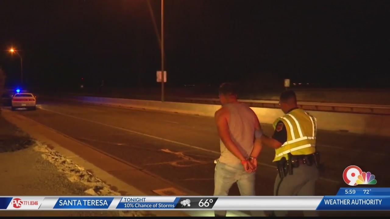 Suspected drunk driver causes crash in Northeast El Paso