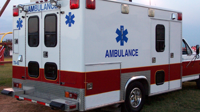 Ambulance generic red and white17408657-159532