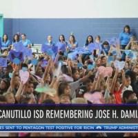 Canutillo ISD celebrates Jose H. Damian