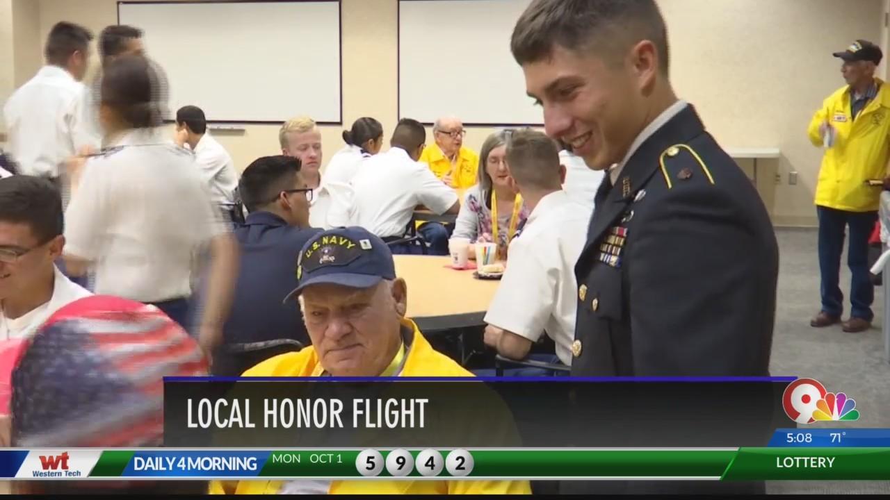El Paso Honor Flight takes off