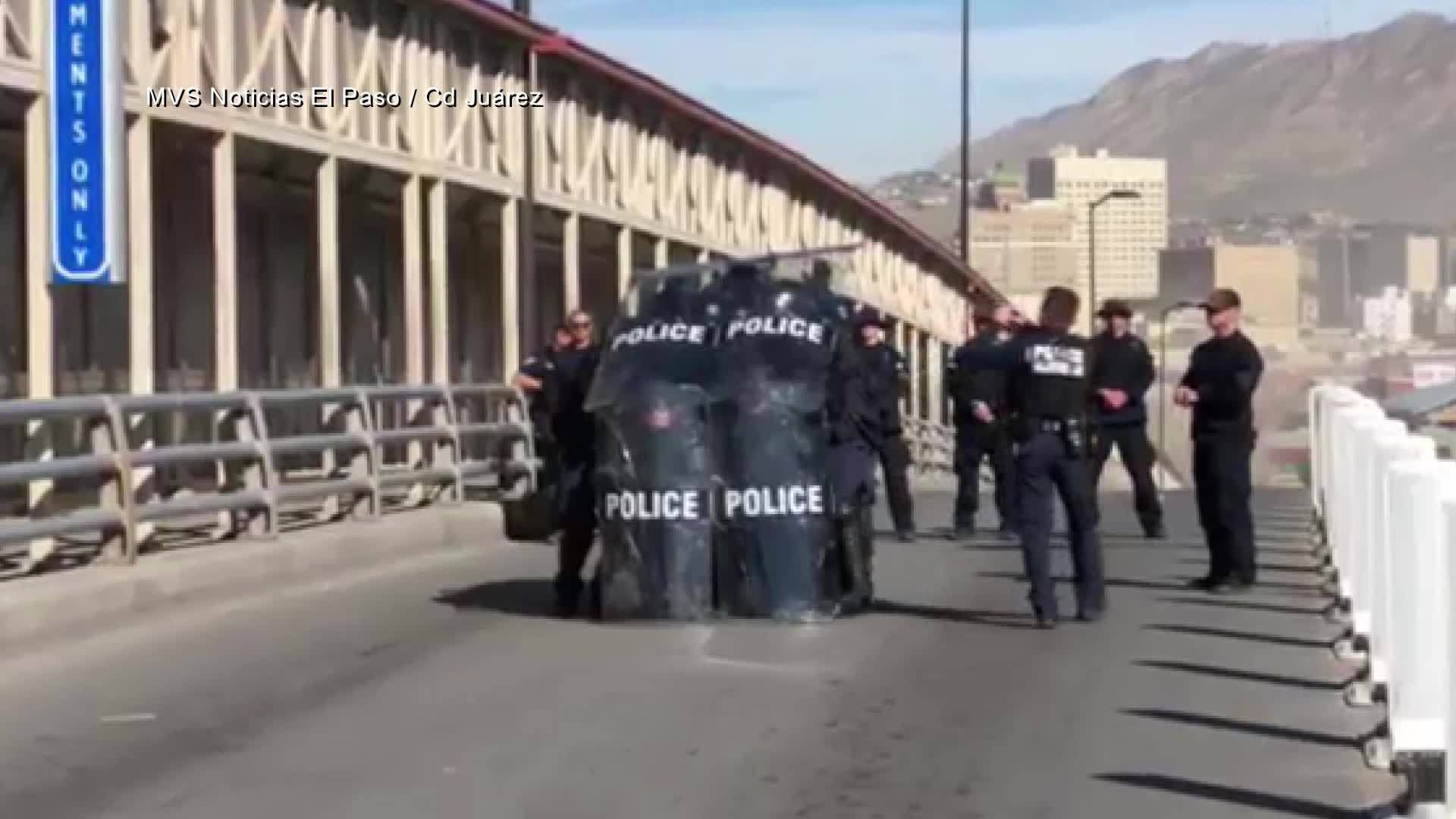 UPDATE: U S -Mexico bridge in Downtown El Paso is open