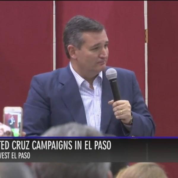 Senator Ted Cruz visits El Paso