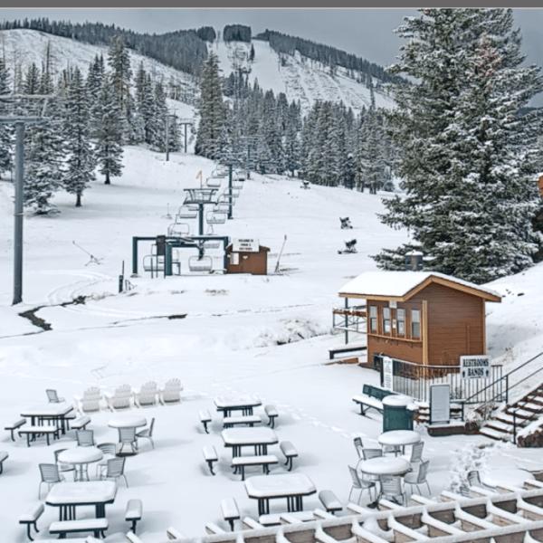 Ski Apache snow