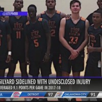 UTEP guard, Gilyard sidelined with undisclosed injury
