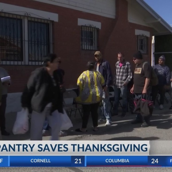 Borderland Rainbow Center provides turkeys to 100 thankful El Pasoans