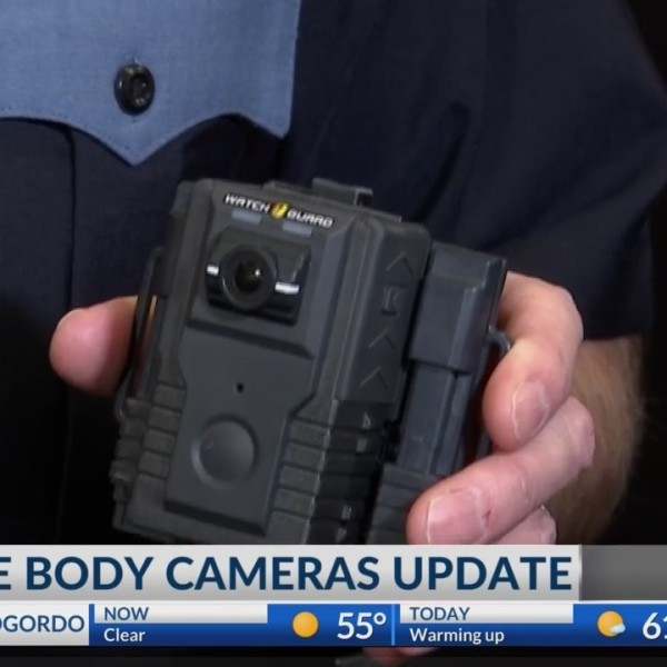 El Paso Police Department body cameras update