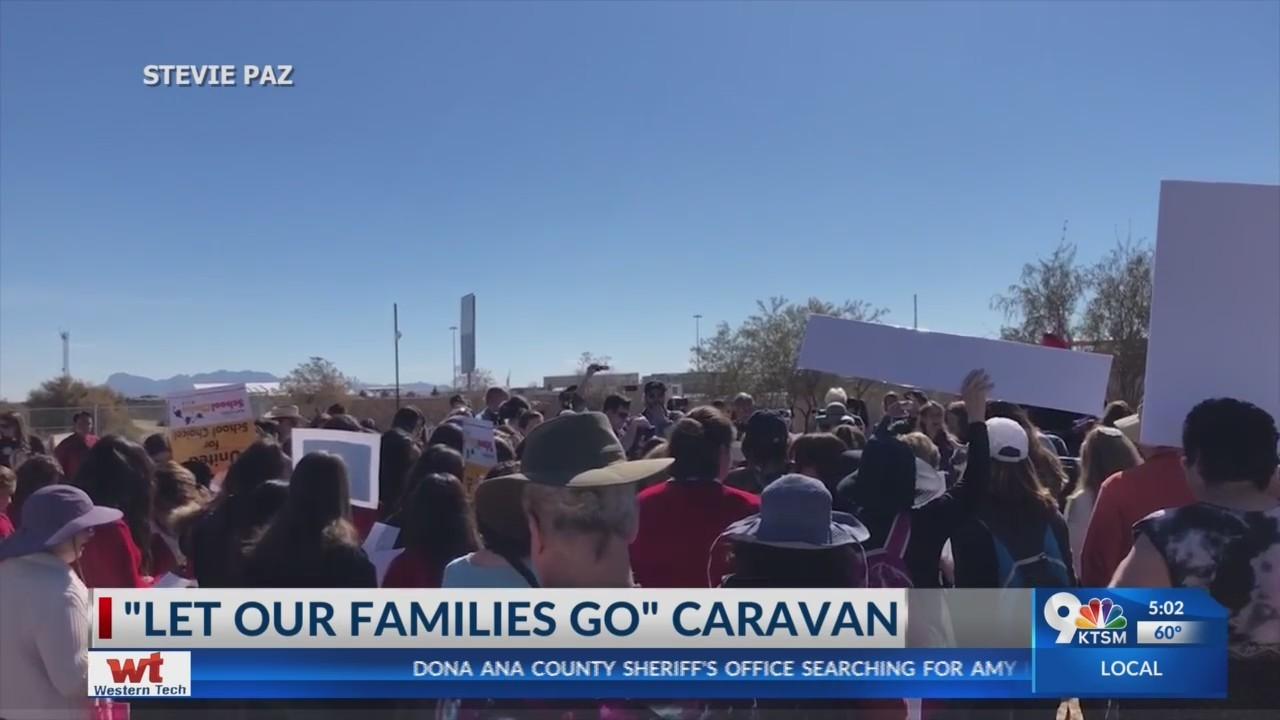 'Let Our Families Go' caravan tours Borderland to support migrants