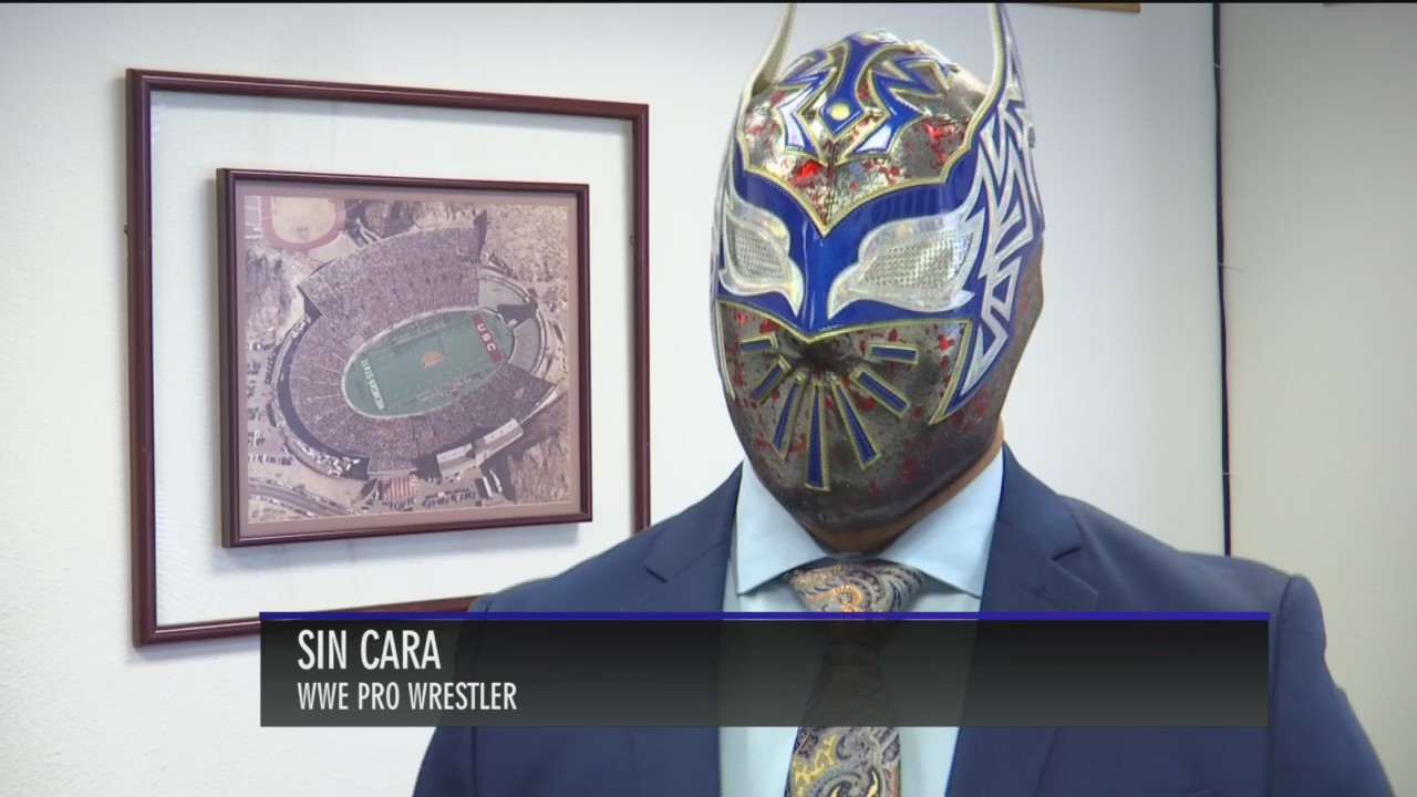 WWE's Sin Cara talks about humble beginnings in El Paso