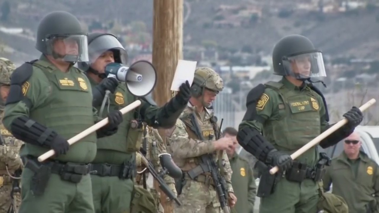 Border Patrol hosts mobile field force training