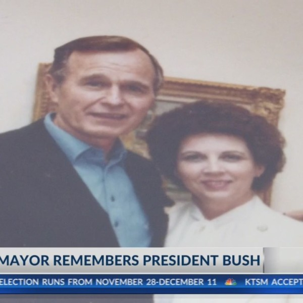 El Paso Mayor's past and present remember President George H.W. Bush