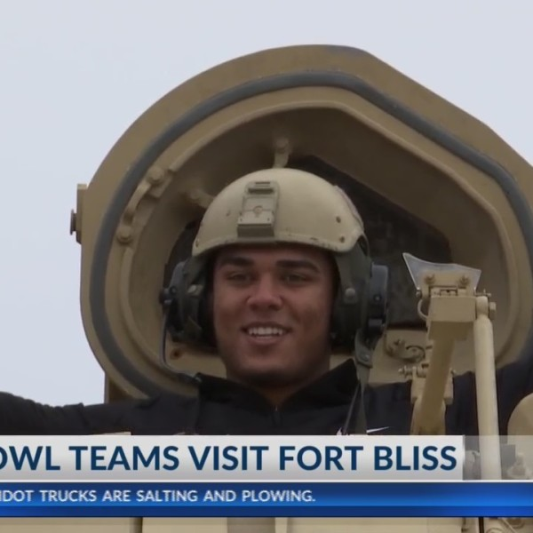 Hyundai Sun Bowl teams take an interactive tour on Fort Bliss