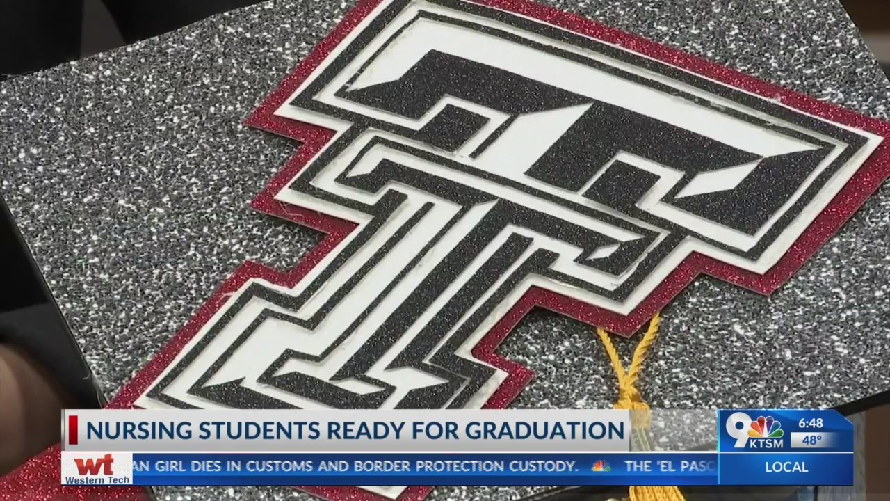 Local college students getting ready for graduation