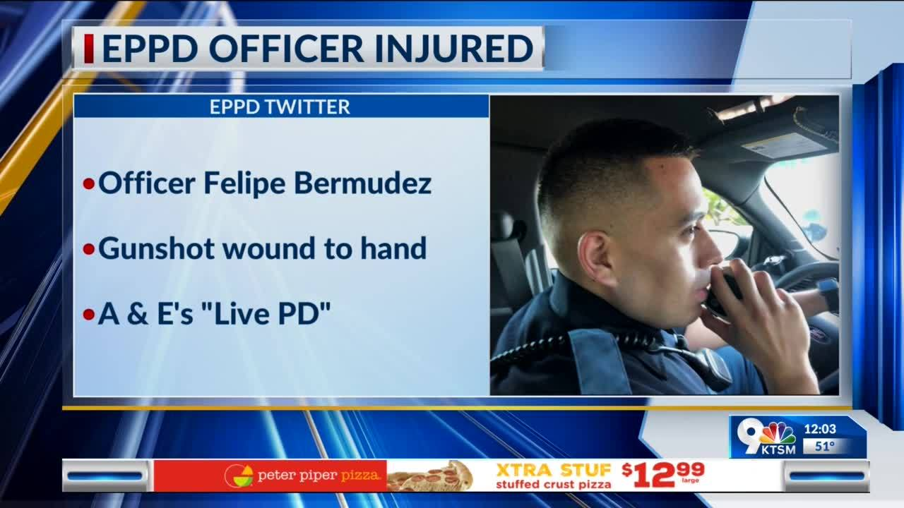 El Paso officer shot earlier this week was featured on Live PD show