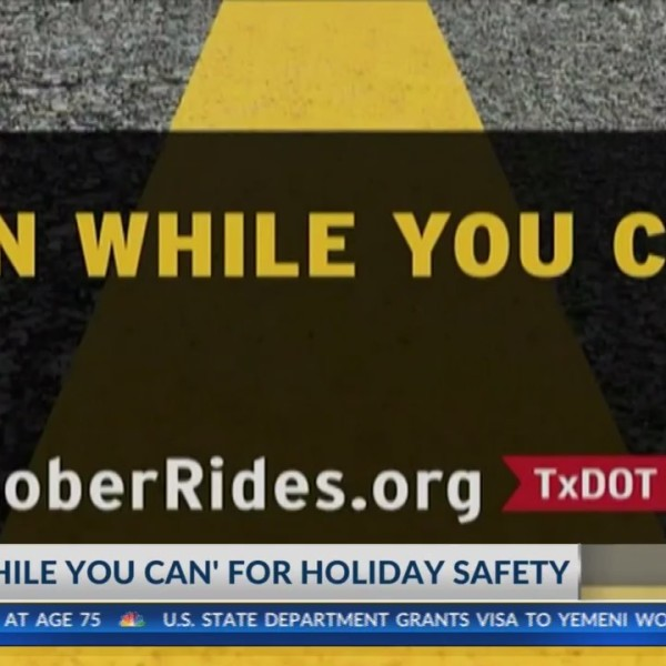 TxDOT 'Plan While You Can' holiday safety campaign