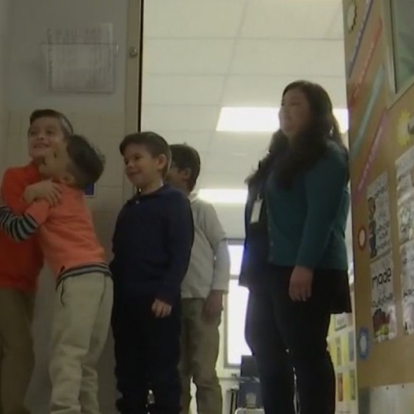 Viral video from SISD shows El Paso first graders' awesome routine