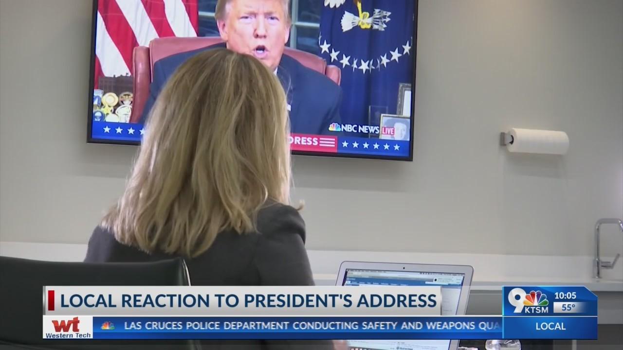 Border journalist responds to President Trump's address