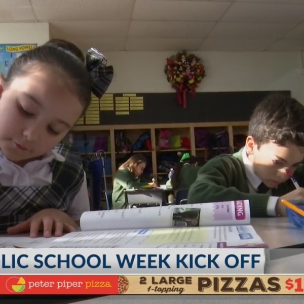 Catholic School Week kick off!