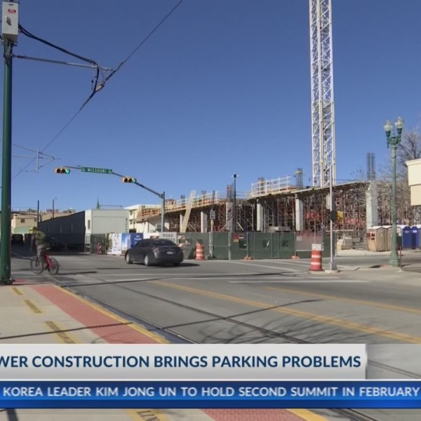 Construction of Westar Tower creates downtown parking hassle