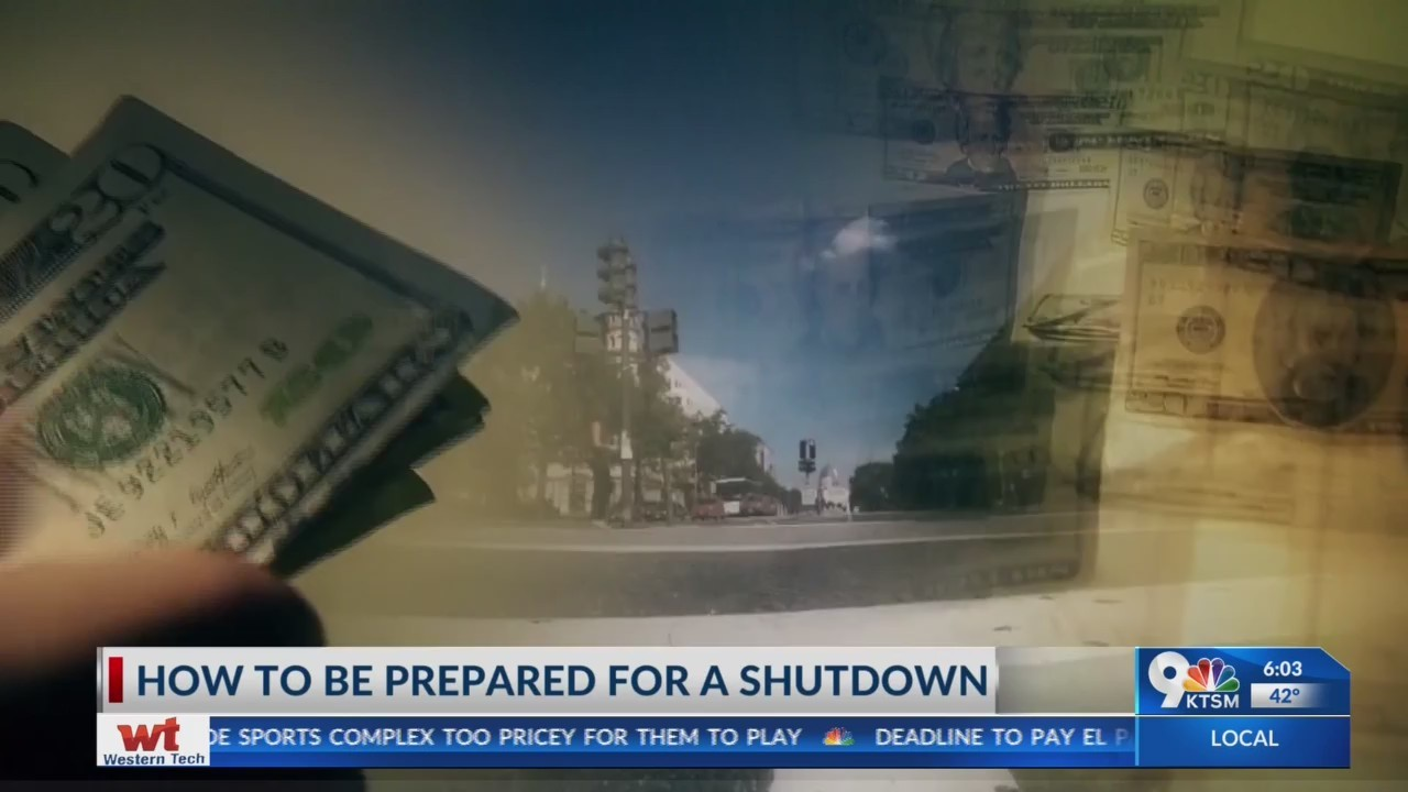 Federal employees prepare for another shutdown