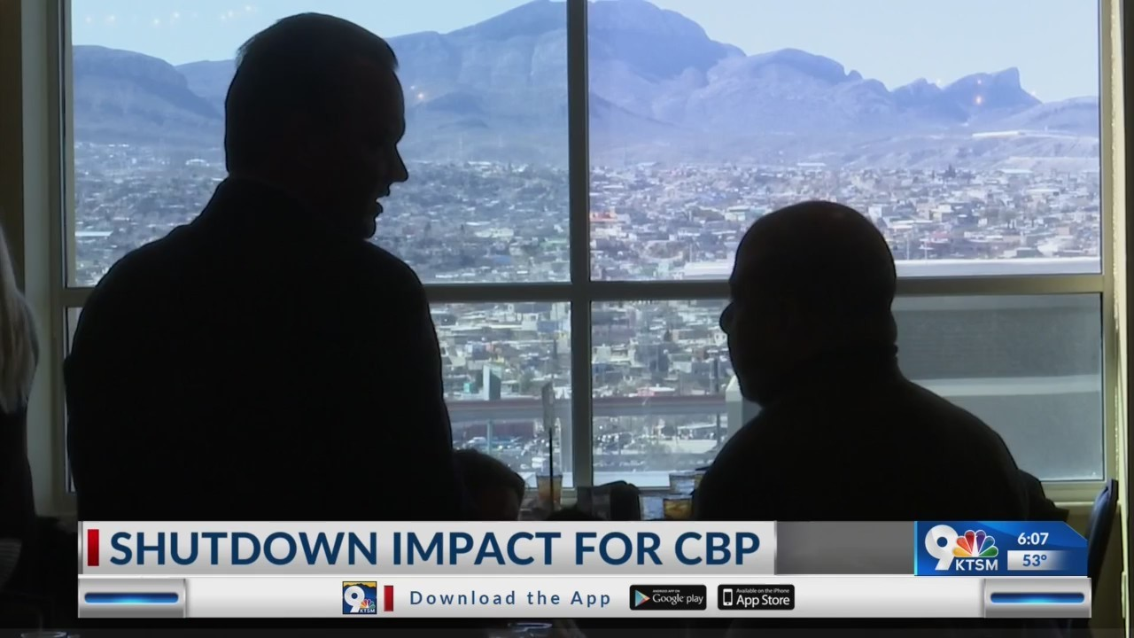 Local CBP agents continue to face impact of shutdown